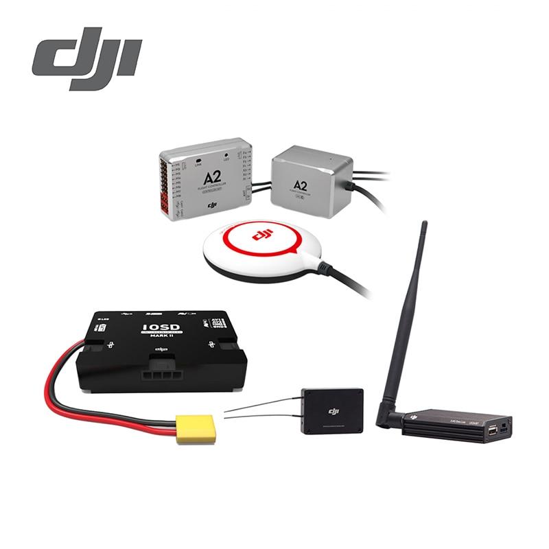 US $899 0 |DJI A2 + iOSD Mark II + 2 4G Bluetooth Datalink Advanced  Stabilization Controller Flight Log Function One key takeoff & landing-in  Flight