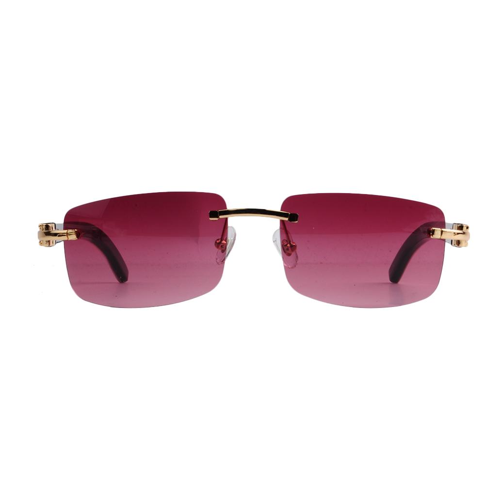 7f15112a9e9 LONSY Original Buffalo Horn High Quality Sunglasses with High ...