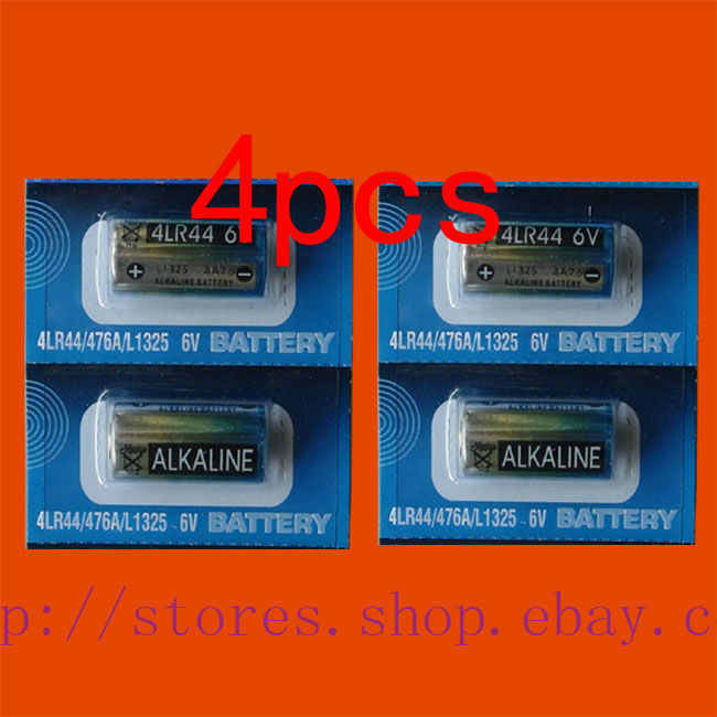 4 X 4LR44 476A L1325 6V for Dog Training Collars N