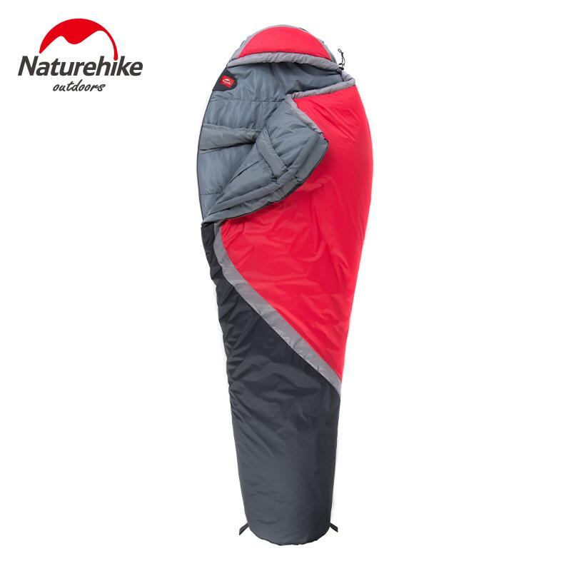 ФОТО Naturehike sleeping bag outdoor camping accessories mummy adult sleeping bag Ultralight Hiking tourist equipment