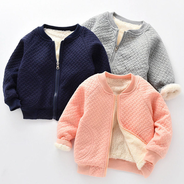 Infant Baby Boys Jacket 2018 Autumn Winter Jacket For Baby Coat Kids Warm Outerwear Coat For Baby Girls Jacket Newborn Clothes