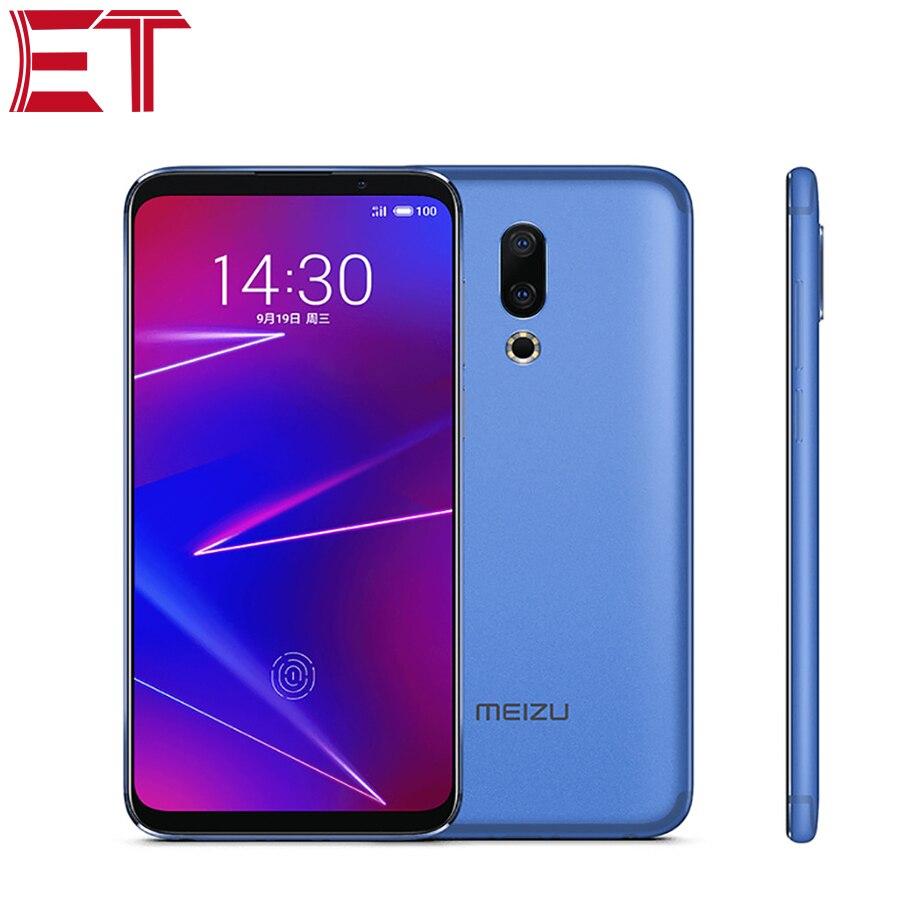 Tout nouveau téléphone portable Meizu 16X 6 pouces Snapdragon 710 Octa core 6 GB RAM 64 GB ROM 20MP Charge rapide adaptative Super AMOLED type-c