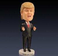 2 Stijlen 18 cm Collectible Model Speelgoed De Stemmen President Donald Trump Hars Figuur Pop Beroemde Persoon Decoratie Beste Gift Hot
