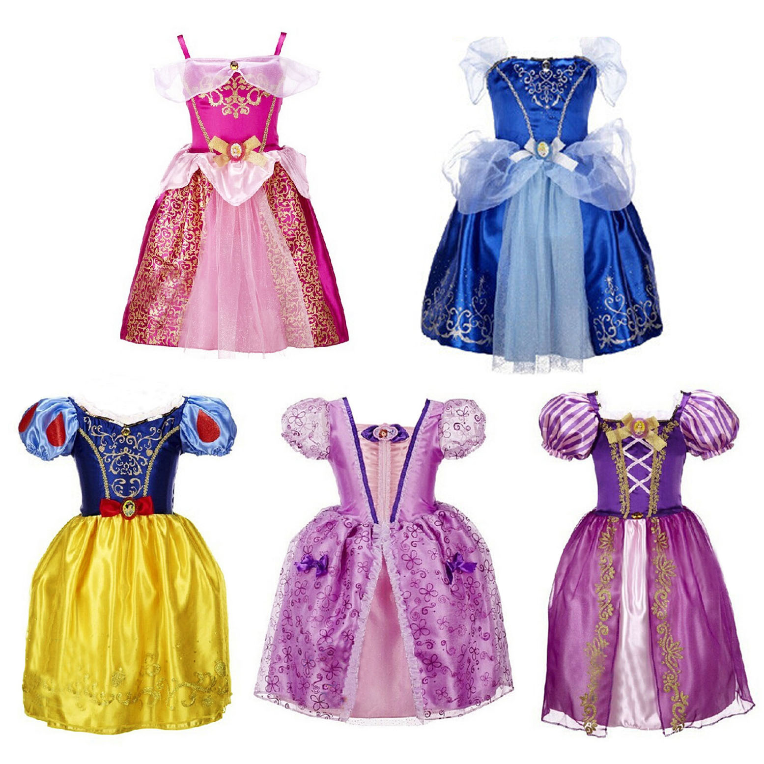 Cartoon Characters Dress Up : Children princess dress cartoon characters dinner