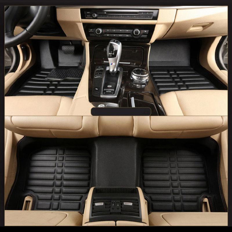 Car Floor Mats Covers free shipping 5D for toyota hondafor nissan hyundai buick for ford audi Benz for BMW car etc Styling