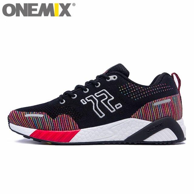 onemix Comfortable Men Running Shoes Women Wide Sneaker Winter Outdoor Sport Walking Lightweight Slip Resistant Trainers