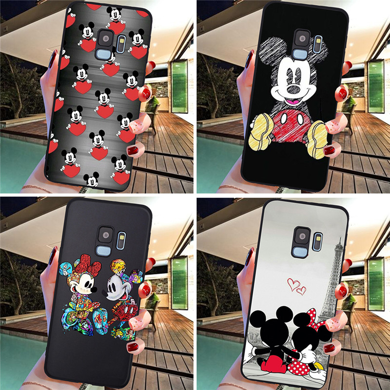 Mickey Mouse For <font><b>Samsung</b></font> <font><b>Galaxy</b></font> S6 S7 Edge S8 S9 S10 S10e Plus Lite Note 8 9 10 A30 A40 <font><b>A50</b></font> A60 A70 M10 M20 phone <font><b>Case</b></font> Cover image