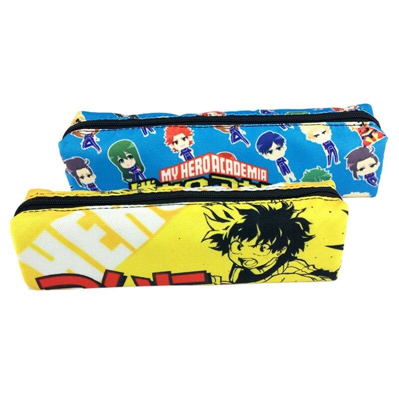 Maread Design Emblem Of Laos Rectangular Children Pencil-box Large Capacity Student Pen Bag Pouch School Supplies