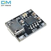 10PCS Single Lithium Battery Charging Charger Module 1A 4.2V 5V-6V TC4056 Micro
