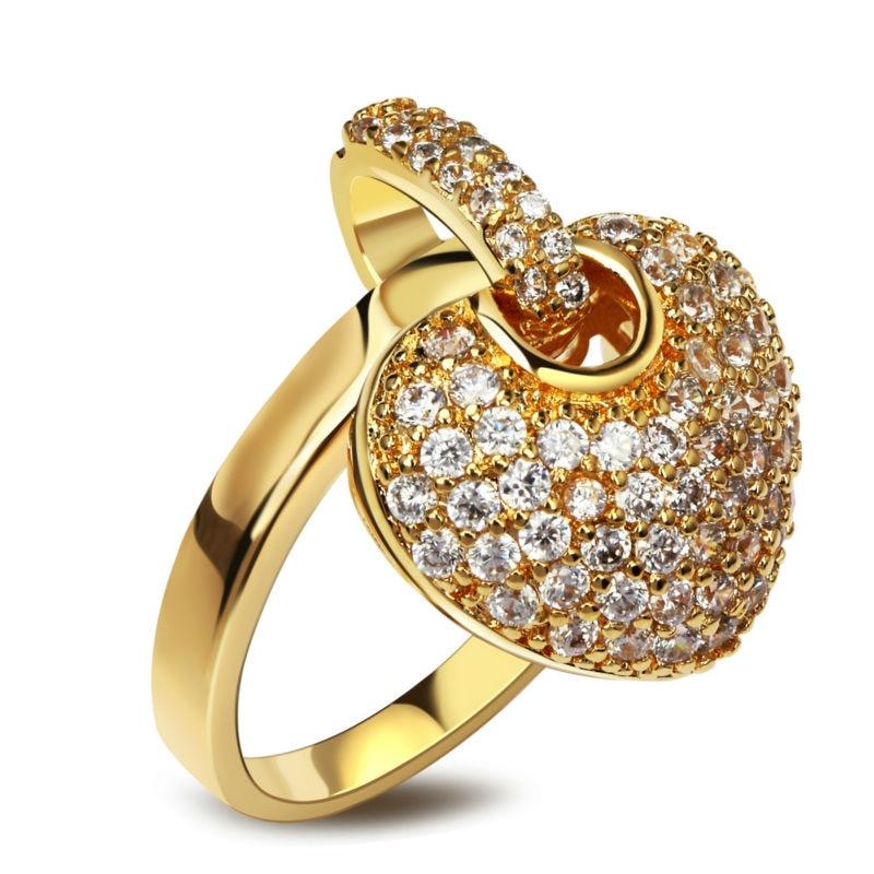 сердце кулон кольцо