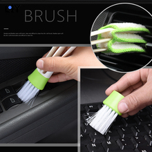 LQY car sticker air outlet clean and convenient brush double head dual-use removable washable