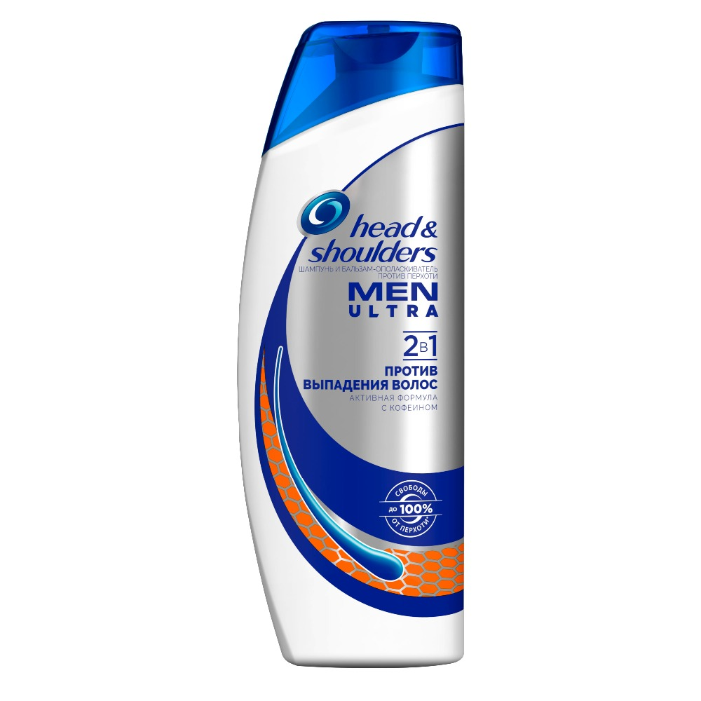 Shampoo for Men Head & Shoulders Men Ultra 2in1 Against hair loss for men 400ml