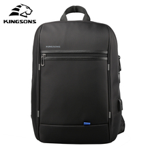 Kingsons Brand Men bag Casual men's briefcase shoulder Bags Laptop crossbody messenger men leather travel bags 2017