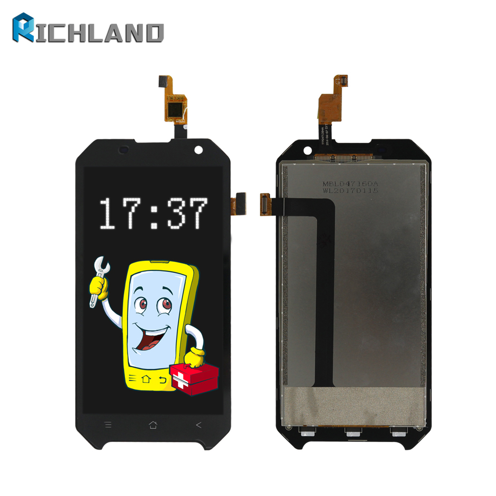 100% tested New Original For Blackview BV6000 BV6000s LCD Display+Touch Screen LCD Digitizer Assembly Glass Panel BV 6000s+tools