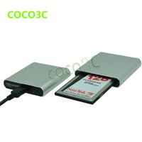 Livraison gratuite gros USB à 68pin PCMCIA slot lecteur de carte SD / CF à cardbus adaptateur pour Mercedes - Benz