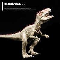 New arrive Jurassic World Dinosaur Toys Plastic Therizinosaurus Tyrannosaurus Rex toy Jurassic Park for children