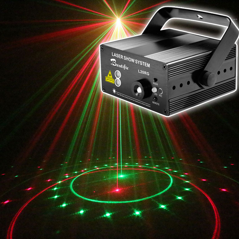 music center sound party lights Dance Laser Projector Show System for Home Disco Lumiere Color Light
