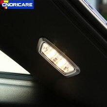 Auto Lampada di Illuminazione del Tronco Cornice Decorazione Della Copertura Trim 2 pcs Per Mercedes Benz GLC X253 2016-17 Chrome ABS 2 pcs Accessori Interni