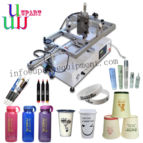 Semi Auto Screen Printing Machine For Pens/bottles/cups