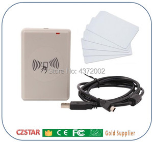 Image 1 - 5cm 3m long range control card reader 915mhz 865mhz ISO18000 6C EPC gen2 desktop UHF reader work with computer Windows systems