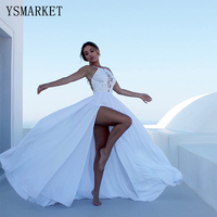 YSMARKET summer fashion lace dress women white long dress sexy womens clothing vestidos branco suspender dress E804