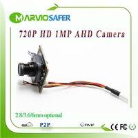 720P 1MP Million Pixel AHD AHD L Analog High Definition CCTV Camera Module Board With UTC