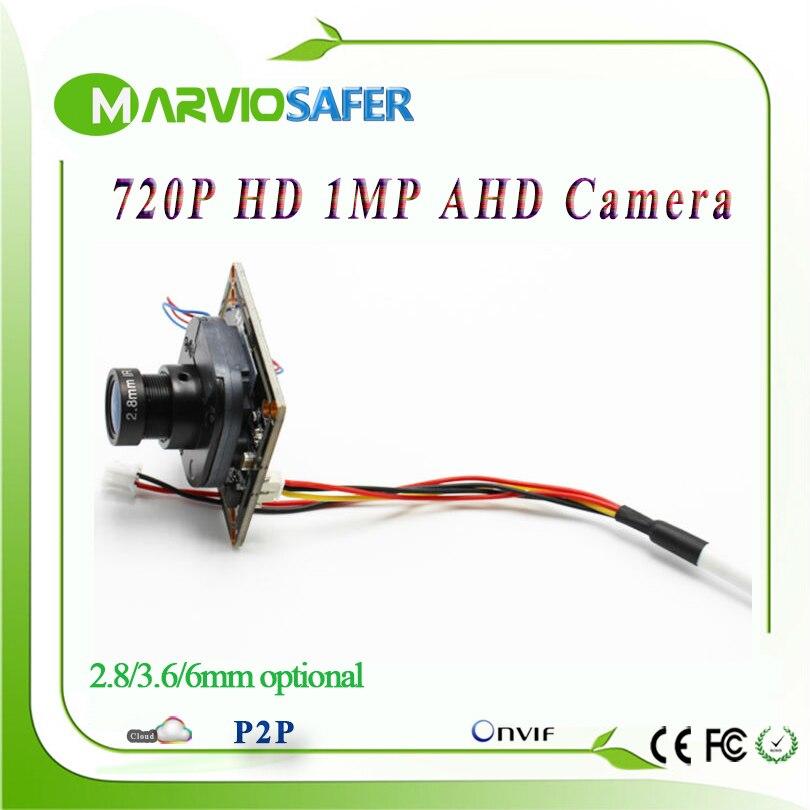 720 P 1MP (millions de Pixels) AHD AHD-L Analogique Haute Définition CCTV Caméra conseil module avec UTC Intégré ircut et objectif