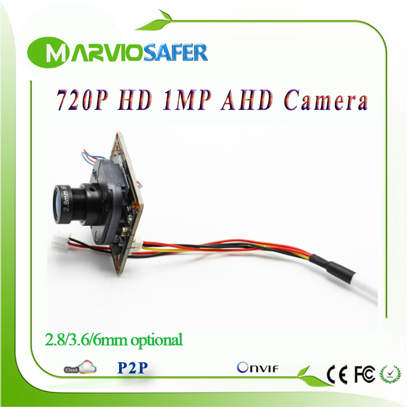 720P 1MP (Million Pixel) AHD AHD-L Analog High Definition CCTV Camera module board with UTC Built-in ircut and lens hkes 38pcs lot 1mp cctv ahd camera module with bnc port and 16mm lens