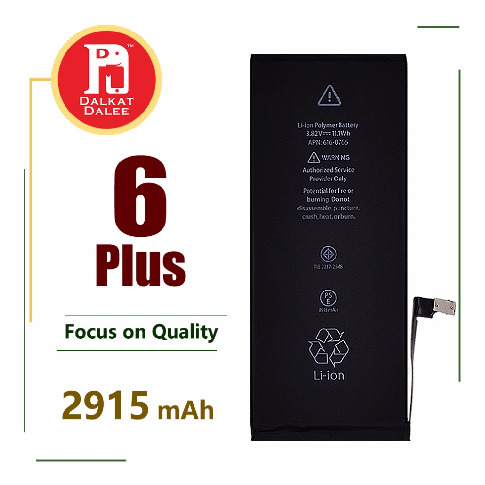 Phone-Battery Replacement-Batteries 6-Plus For High-Capacity 2915 Mah