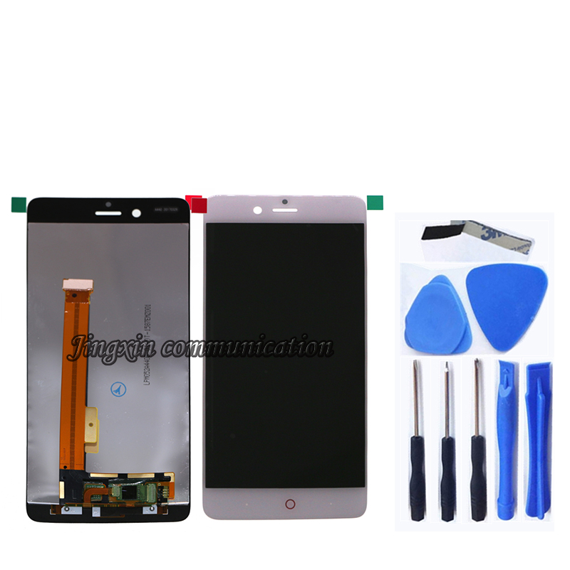 Image 2 - NEW lcd For ZTE Nubia Z17 mini NX569J NX569H LCD display+touch screen digitizer Assembly for nubia z17mini LCD Repair parts-in Mobile Phone LCD Screens from Cellphones & Telecommunications
