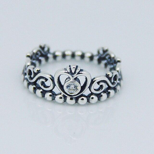 anillo tiara princesa pandora