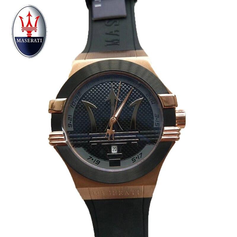 457818619b9 Aliexpress.com  Compre Vintage Design Maserati Watch Men s Top Brand Relogio  Masculino 2018 New Men s Sports Clock Analog Quartz Watch de confiança  Relógios ...