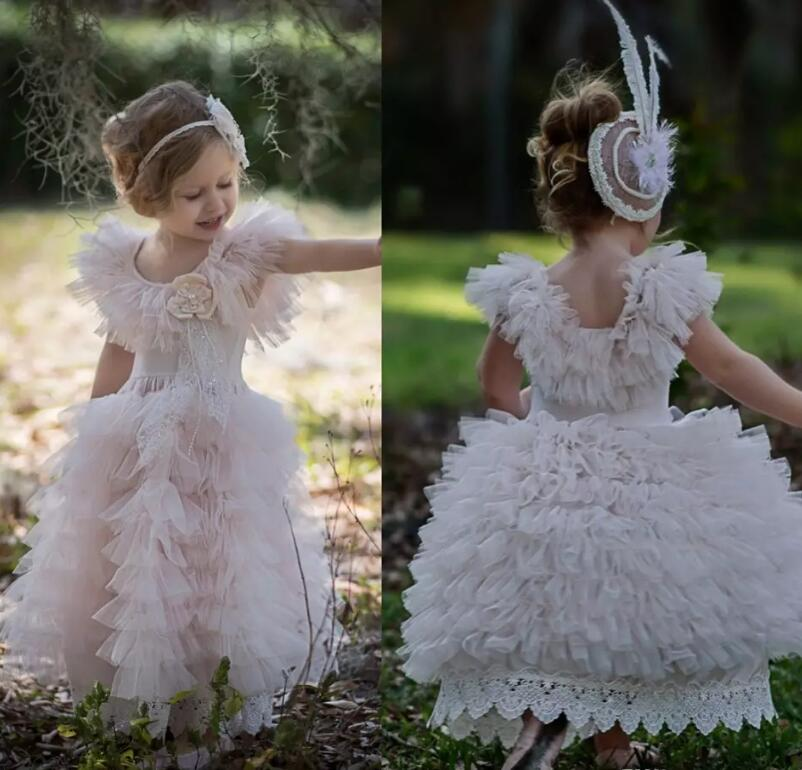New White/Pink/Ivory Baby Girls Birthday Dress Ball Gown Custom Made Girls Pageant Gown Any Size 4pcs new for ball uff bes m18mg noc80b s04g