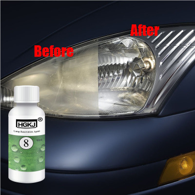 Hgkj No 8 20ml Car Headlight Restoration Repair Agent Lamp Scratches