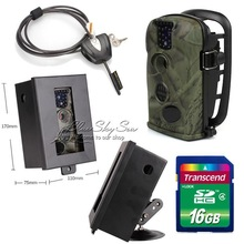 Free Shipping!LTL Acorn 5210A 940nm 12MP Game Hunting Scouting Trail Camera+16GB+Security Box+Python Lock