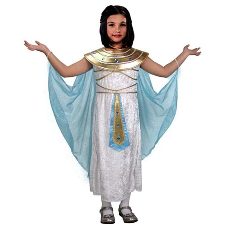 1ee0dba83 Meninas novas Cleopatra Costume crianças egípcio Fantasia vestido de  Halloween crianças carnaval Fantasia Disfraces em de no AliExpress.com