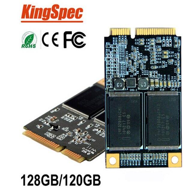 Kingspec PCIE внутренняя msata SATAIII SATA3 MLC 128 ГБ без кэша msata SSD Твердотельный диск для Планшетных ПК/loptop/desktop