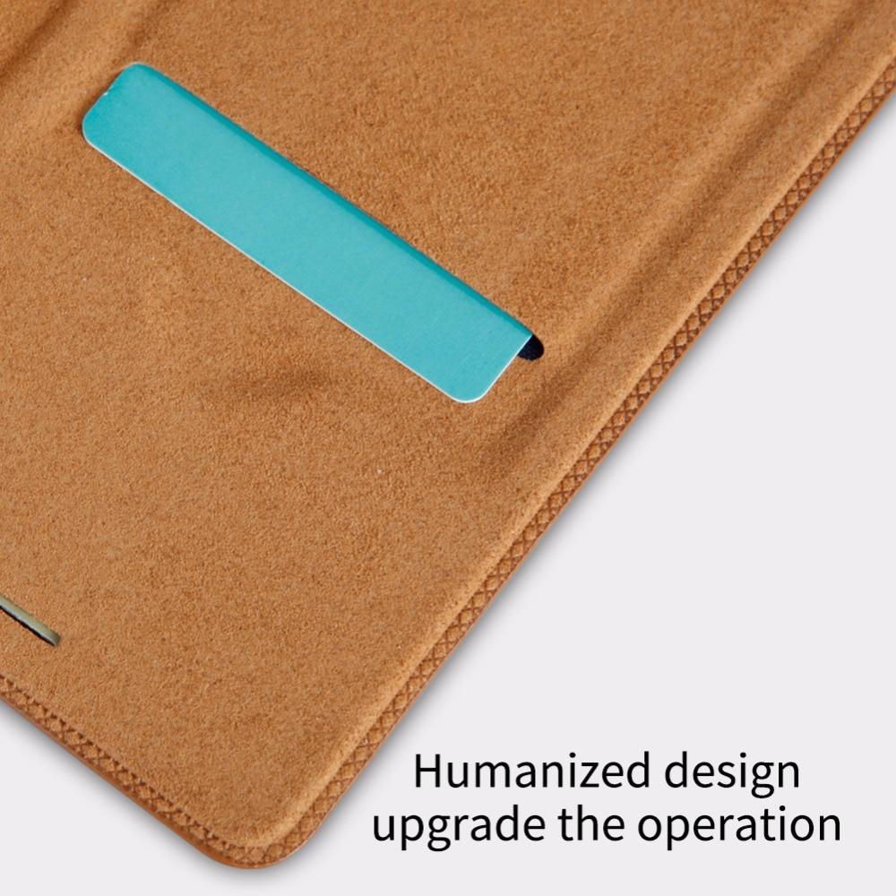 Flip Case Samsung Note 10 9 8 S8 S9 S10 S10e S20 PLus NILLKIN Qin - მობილური ტელეფონი ნაწილები და აქსესუარები - ფოტო 4