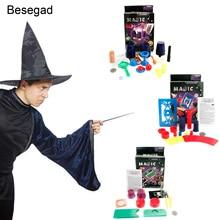 Besegad 2019 классический волшебный трюк шоу игрушка инструмент Аксессуары Реквизит набор для детей день рождения Рождественский праздничный подарок