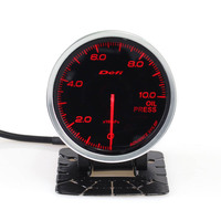 Defi Advance BF 2.5 Inch 60mm 0 10KPA Bar Oil Press Gauge Meter Oil Pressure Auto Gauge