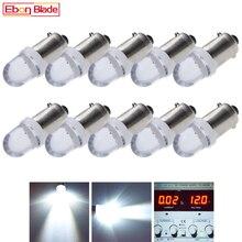 10 個 BA9S T11 T4W led ランプ 1SMD オートインテリア照明ドーム地図読書ライトサイドウェッジパーカー電球ホワイト 12 v dc 車のスタイリング