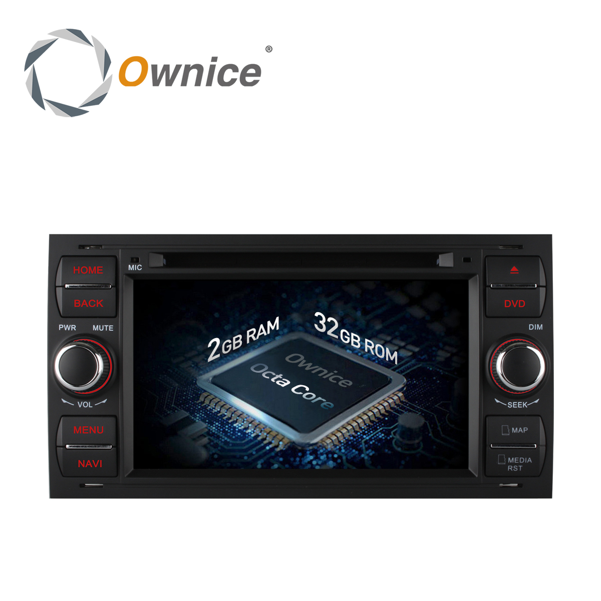 Ownice 4G SIM LTE Android 6.0 Octa Core 32G ROM Car DVD GPS Radio For Ford Mondeo S-max Focus C-MAX Galaxy Fiesta Form Fusion