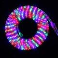 Tira llevada 3014 SMD Colorido 72 LED/M RGB AC220V 1 M/5 M/15 M/20 M/30 M IP67 a prueba de agua al aire libre de interior LLEVADA Flexible de la Cinta Cinta de luz