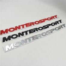 Для Mitsubishi Pajero Montero Sport Suv передний капот значок с эмблемой логотип табличка наклейки