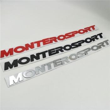 цена на For Mitsubishi Pajero Montero Sport Suv Front Hood Emblems Badge Logo Nameplate Decals