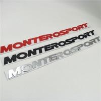 For Mitsubishi Pajero Montero Sport Suv Front Hood Emblems Badge Logo Nameplate Decals