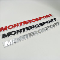 For Mitsubishi Pajero Montero Sport Suv Front Hood Emblems Badge Logo Nameplate Decals