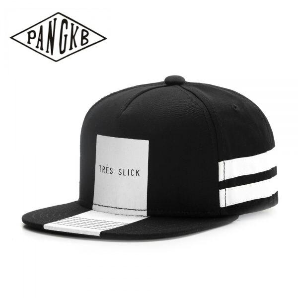 PANGKB Brand TRES SLICK CAP boy girl hip hop snapback hat Autumn for men  women adult 9049459e5ef7