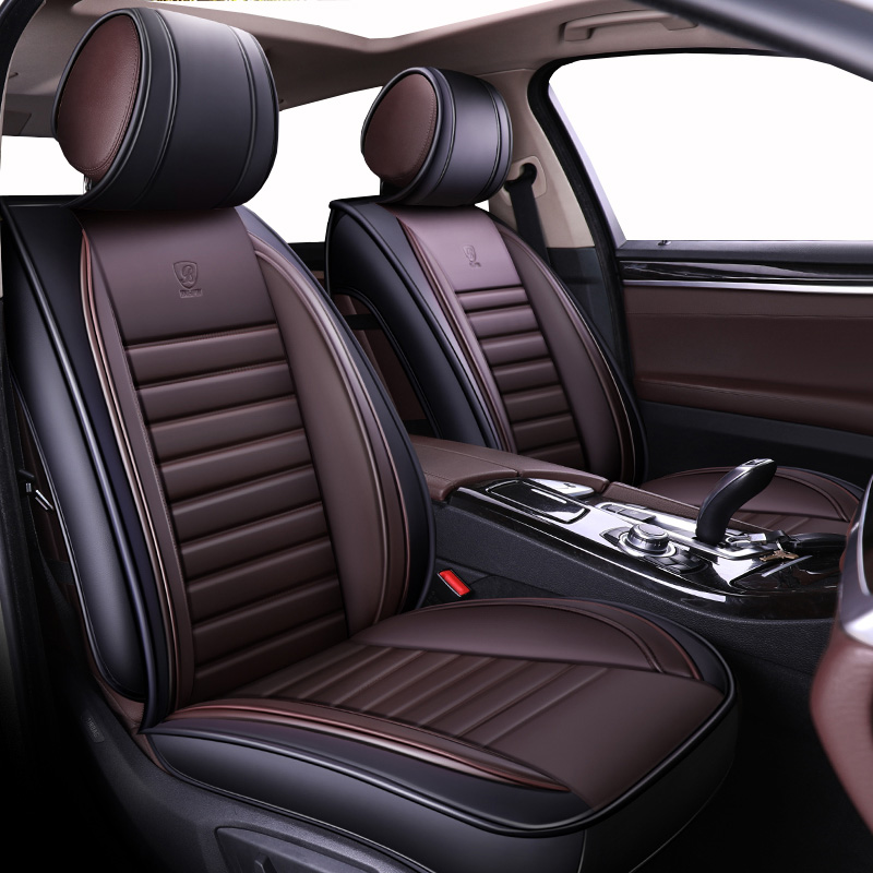 New Luxury Universal Leather Car Seat Cover For BMW X1 X3