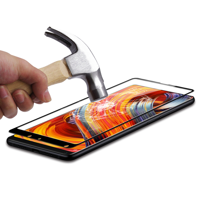 Suntaiho 9H 2.5D Full Cover Tempered Glass For Xiaomi Mi mix 2/MI mix New Sale Screen Protector For Xiaomi Mi mi6 Glass film